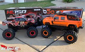 100 Racing Trucks Review CEN HL150 And B50 Solid Axle Monster