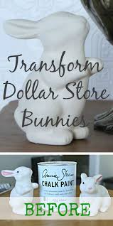 Primitive Easter Decorating Ideas by Easter Bunnies Dollar Cheap To Super Chic Dollar Stores