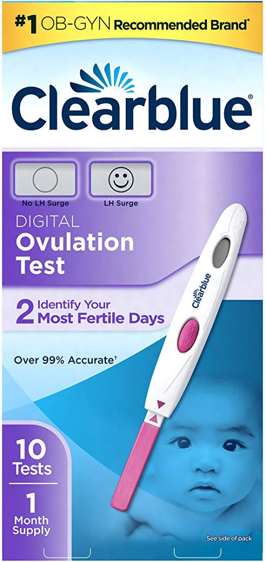 Clearblue Ovulation Test, Digital - 10 tests