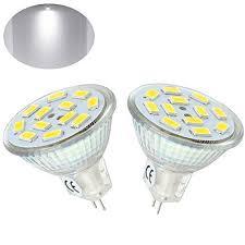 bonlux mr11 led gu4 bi pin base bulb 2 watts 10 30v ac dc led mr11