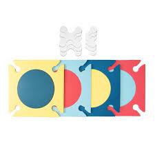 Skip Hop Foam Tiles Grey by Skip Hop Playspot Mat Multi Mix Bubs N Grubs