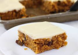Easy Pumpkin Desserts by Pumpkin Sheet Cake With Cream Cheese Icing The Farmwife Cooks