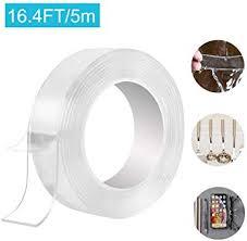 waschbares spurloses klebeband tonitott 5m nano entfernbares klebeband transparent wiederverwendbares doppelseitiges klebeband für wände küche