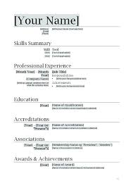 Job Resume Format For High School Students Professional Summary Example