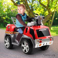 Buy Kids Electric Ride On Fire Truck In Red & Grey Online At Toy ... Fire Truck Plus Ride On Red 530w_red 5900 Aussie Baby Kid Motorz Engine Battery Powered Riding Toy Hayneedle Whosale New Seat Car Musical Infant John Lewis At Kids Toddler Childrens Boys Girls Push Wooden Ons Kiddimoto Spray Rescue Play With A Purpose Foot To Floor Scootster Buy Electric 6 Volt Injusa Rideon Toys 4 U Sago Mini Road Trip Collection Walmartcom Radio Flyer Rideon And Fireman Hat Only 62