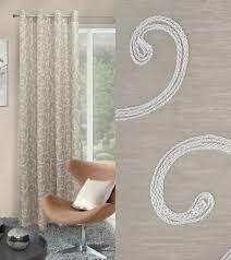 vorhang wohnzimmer ösenvorhang 140 x245 cm dekorativ mit