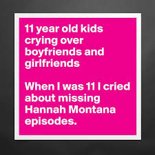 11 Year Old Kids Crying Over Boyfriends And Girlfr
