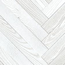 White Wood Flooring Dark Floor Living