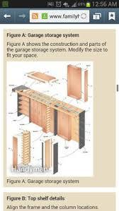 Basement Storage Shelves Woodworking Plans by Hanging Shelves Above Garage Door Storage Pinterest Shelves