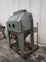 Central Pneumatic Blast Cabinet by Dayton 3z887 Blast Cabinet 312946 For Sale Used