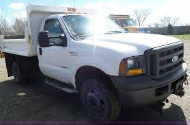100 Ford F350 Dump Truck 2005 Super Duty Dump Bed Pickup Truck Item L7218