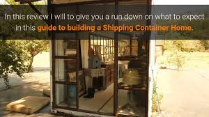 100 Build A Home From Shipping Containers Ing Your Shipping Container Home DIY Review 2 On Vimeo
