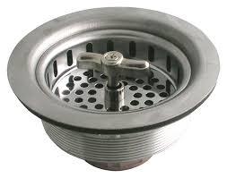 Kohler Sink Strainer Basket by Ldr 501 1400 Twist And Lock Kitchen Sink Strainer Chrome