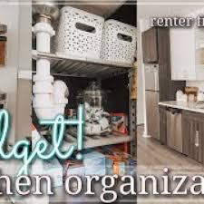 Small Kitchen Organizing Ideas Free Small Kitchen Organization On A Budget 2020