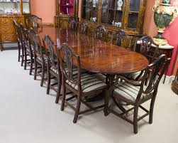 A Magnificent Antique Regency Dining Table And Set Of 12 Chairs ... Tiger Oak Fniture Antique 1900 S Tiger Oak Round Pedestal With Ding Chairs French Gothic Set 6 Wood Leather 4 Victorian Pressed Spindle Back Circa Room 1900s For Sale At Pamono Antique Ding Chairs Of Eight Chippendale Style Mahogany 10 Arts Crafts Seats C1900 Glagow Antiques Atlas Edwardian Queen Anne Revival Table 8 Early Sets 001940s Extendable With Ball Claw Feet Idenfication Guide