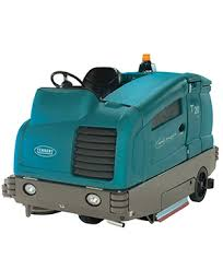 t20 industrial ride on floor scrubber dryer tennant company