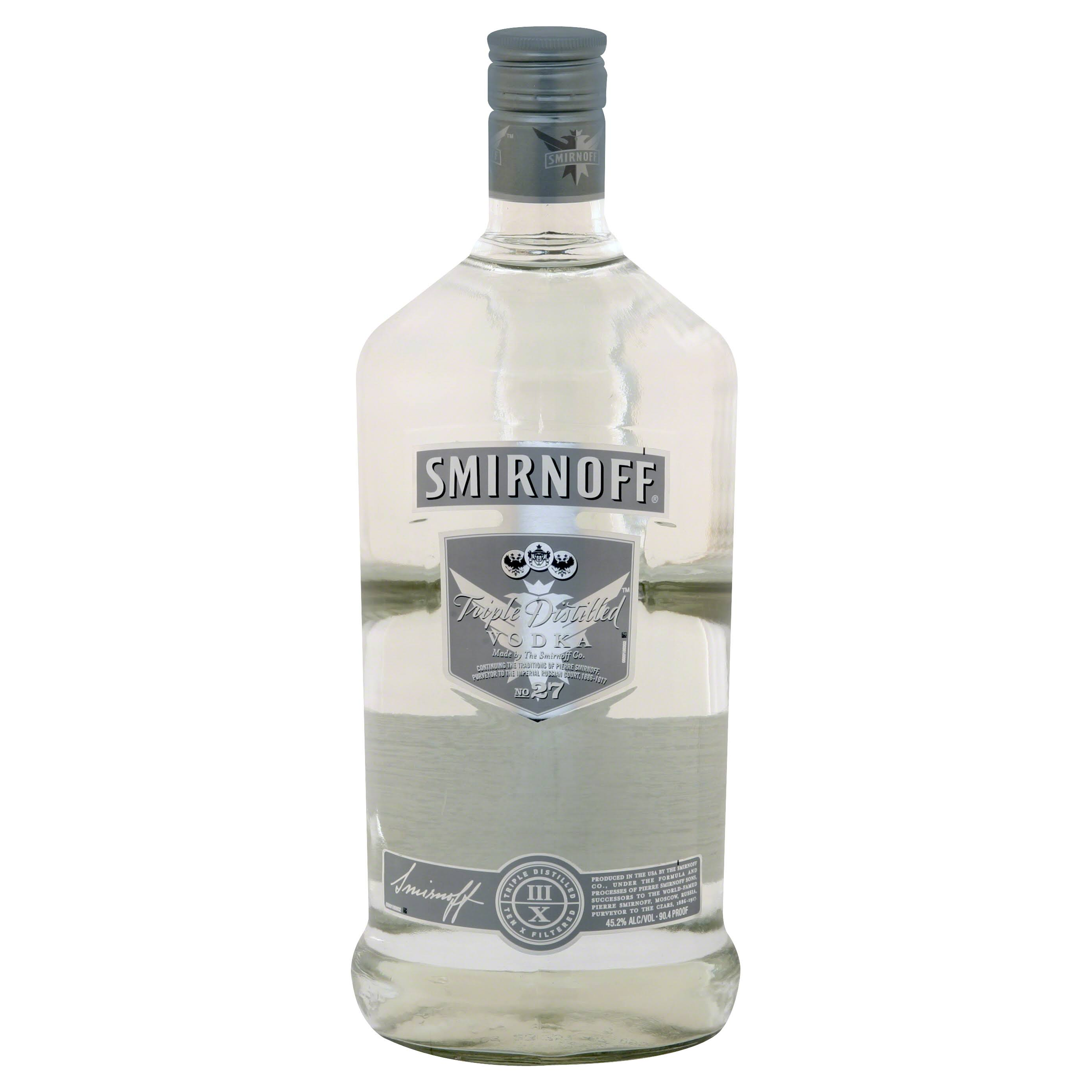 Smirnoff Triple Distilled Vodka - 1.75L