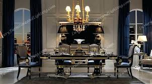 Italian Dining Room Sets Furniture Classic Black Lacquer Chairs