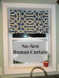 Yellow And Gray Chevron Kitchen Curtains by No Sew Curtains U2013 A Slice Of Mudpie