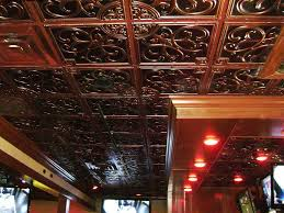 24x24 Pvc Ceiling Tiles by Install Faux Tin Ceiling Tiles As Backsplash U2014 The Home Redesign