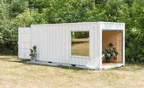 100 Cargo Container Cabins Shipping