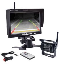 Wireless Reversing Camera System With 7