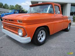 100 1963 Chevrolet Truck Custom Orange CK C10 Pro Street Exterior Photo