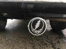New Hitch Plate On My Truck, Keep Truckin' : Gratefuldead