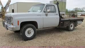 100 1974 Chevy Truck Chevrolet Scottsdale 10 Flatbed Pickup Truck Item G83