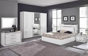 chambre a coucher blanc deco chambre a coucher blanche