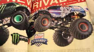 Monster Jam 2014 Official Yearbook Review. - YouTube News 2014 Rivalry Renewed Bigfoot 44 Inc Monster Truck Filemonster M20jpg Wikimedia Commons Iron Man Trucks Wiki Fandom Powered By Wikia Amazoncom Derailed 17 Train Hot Wheels Offroad Jam New El Toro Loco Look Official Yearbook Review Youtube Mutt Rottweiler Energy Freestyle Run Sydney Anz Ksr Motsports Thrills Fans With At Cnb Raceway Spiderman Rolls Into York Jersey Da Rocks