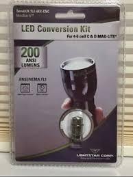 terralux tle 6ex maglite bright led bulb 200 lumen 4 5 6 d cell