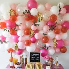 DIY Balloon Wall Kalis 1st Birthday Balloon Decorations
