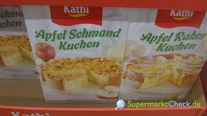 kathi backmischung apfel rahm kuchen nutri score kalorien