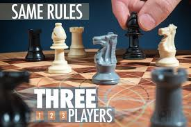 Three Man Chess Obeys The Same Rules Of Traditional