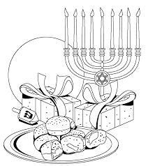 Hanukkah Coloring Pages To Print