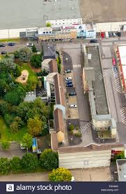 Aerial View WDR Cologne Studio Lindenstrasse And Exterior Set Production Area Bocklemund