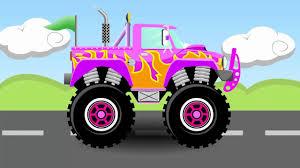 Monster Trucks For Children - Trucks For Children Kids - Learn ...
