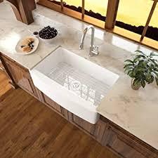 sarlai 33 weiße bauernhaus spüle 84 6 cm farmhaus spüle weißer bogenkante schürze vorne keramik porzellan schamotte einzelschale bauernhof