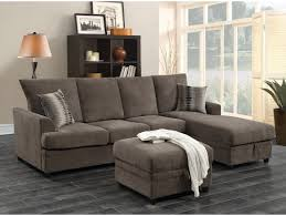 Coaster Moxie Chocolate Sectional Sofa with Sleeper