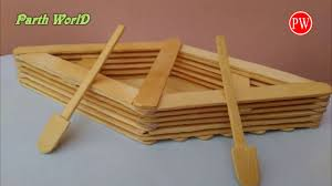 How To Make A Boat With Popsicle Sticks