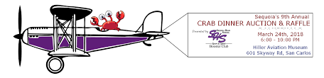 Mar 24 | Sequoia H.S. Booster Club Crab Feed Dinner & Auction: San ... Hiller Aviation Museum San Carlos Airport Youtube Gourmet Food Trucks At Fly Archer 839al Lovely Members Ly Evening Reception Boeing 747100 Display Filegrumman Hu16rd Albatross N44rd 1955 Waffle Roost Truck Yelp Drone Plex Filebuhl A1 Autogyro 1931