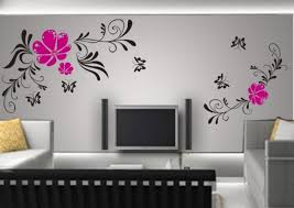 Easy Simple Wall Painting Designs For Living Room 74 On Home Decor Ideas With