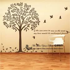 Tree Wall Decor Ebay by Giant Bodhi Tree Wall Art Decal Removable Vinyl Stickers Mural