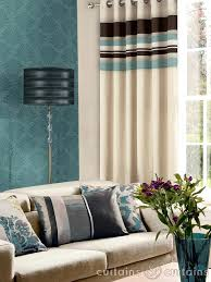 Brown And Teal Living Room Curtains by Brown And Blue Fabric Blue Duck Egg Blue Sky Navy Curtain