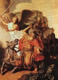 Rembrandt Harmensz Van Rijn Balaam And The Ass