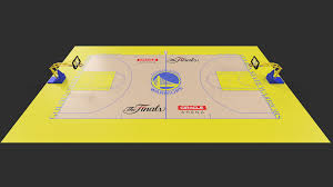 Golden State Warriors Basketball Court