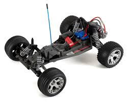 Traxxas Rustler 1/10 RTR 2WD Electric Stadium Truck (Blue) [TRA37054 ...