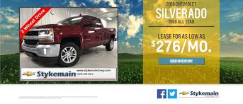 100 Chevy Trucks For Sale In Indiana Stykemain Chevrolet Car Dealership In Paulding OH Near T Wayne IN