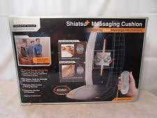 Massage Chair Pad Homedics by Homedics Sbm 300 Shiatsu Chair Back Massage Massaging Cushion Ebay